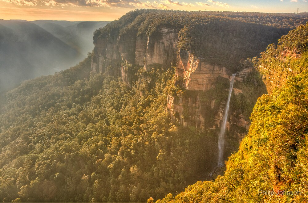 Jurasic - Govetts Leap, Blackheath NSW - The HDR Experience by Philip Johnson