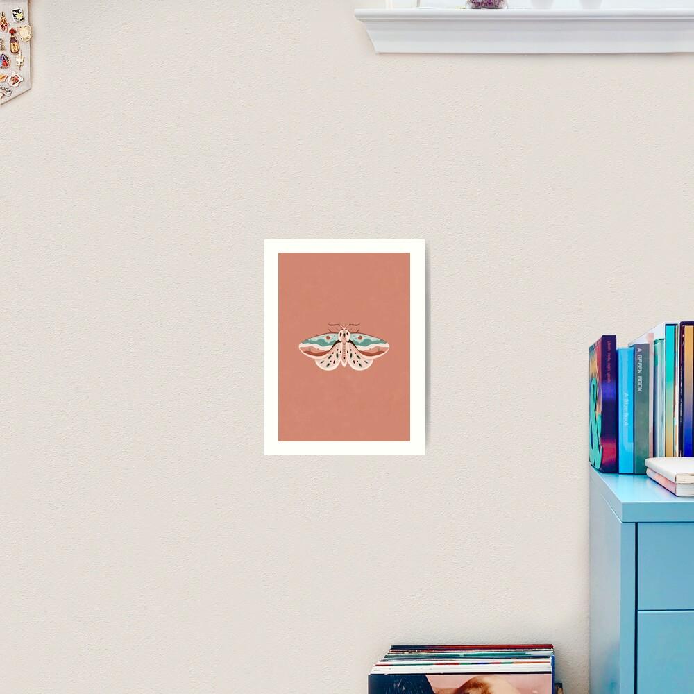 Desert Moth Art Print