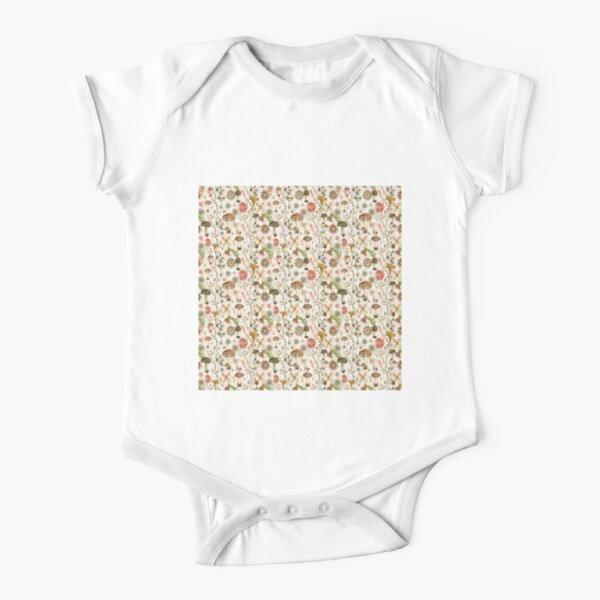 Mushroom Garden Short Sleeve Baby One-Piece