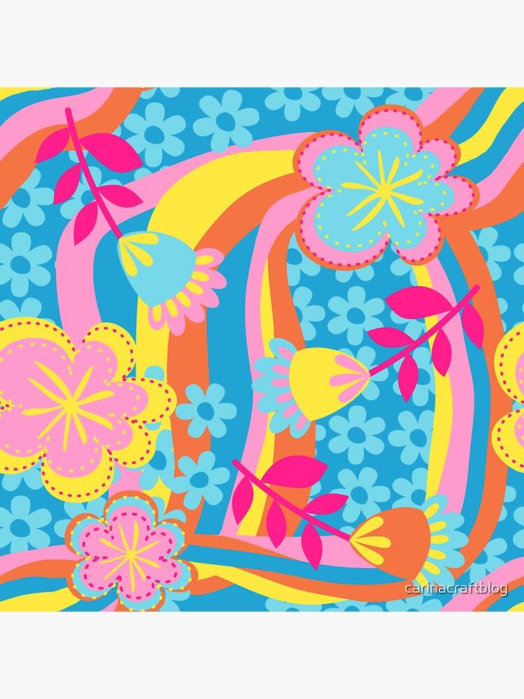 Flower Power Summer by carinacraftblog
