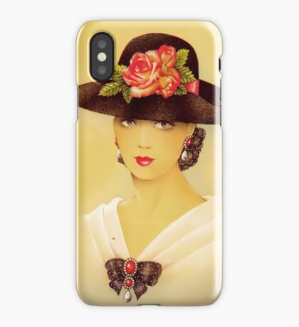 Vintage Innocence iPhone Case iPhone Case/Skin