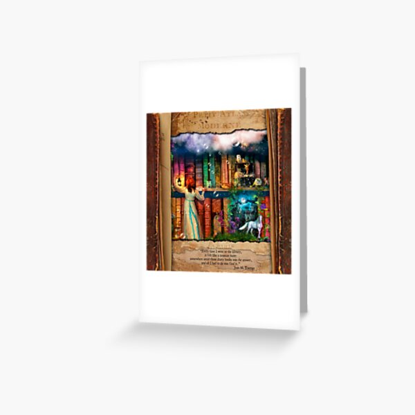 The Curious Library Calendar - June Greeting Card