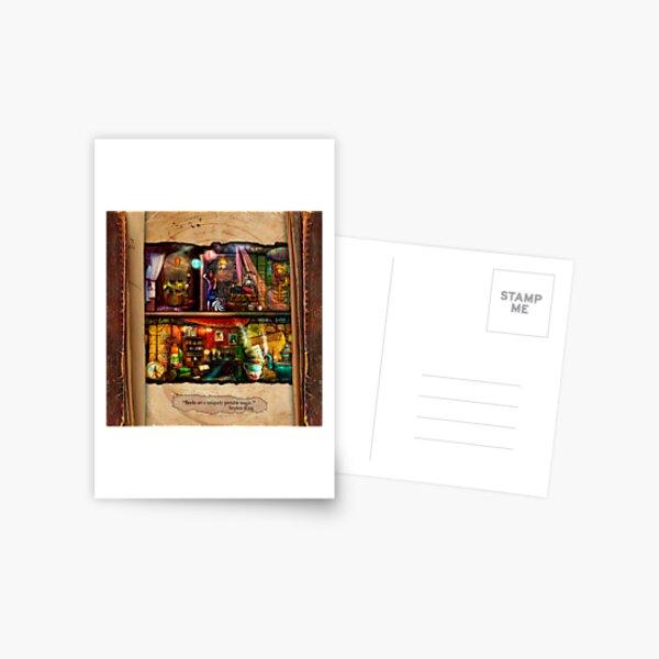 The Curious Library Calendar - September Postcard