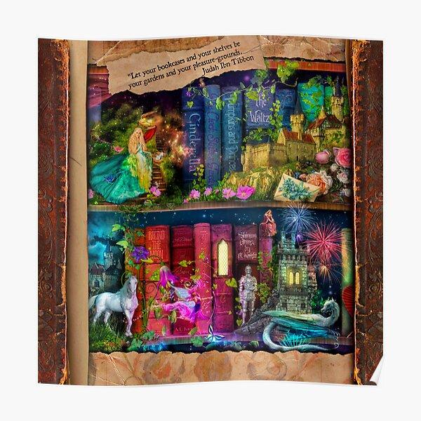 The Curious Library Calendar - December Poster