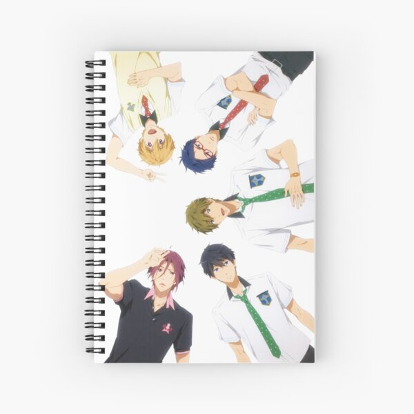 Free!! Iwatobi Swim Club Spiral Notebook