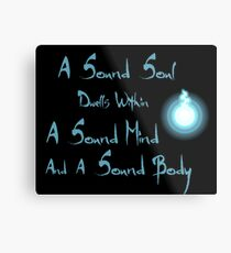 A Sound Soul Metal Print
