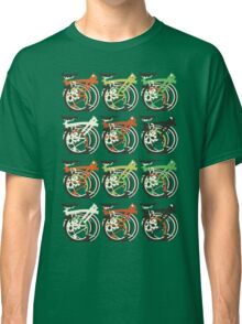 Folded Brompton Bicycle Classic T-Shirt