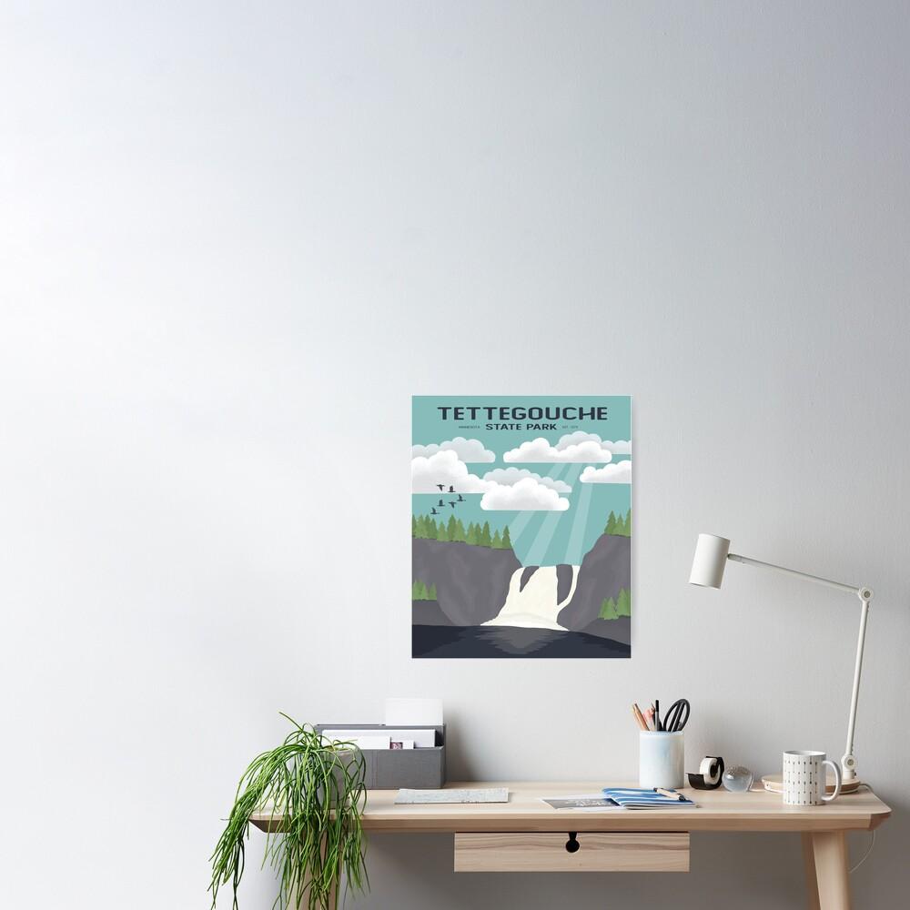Tettegouche State Park Poster
