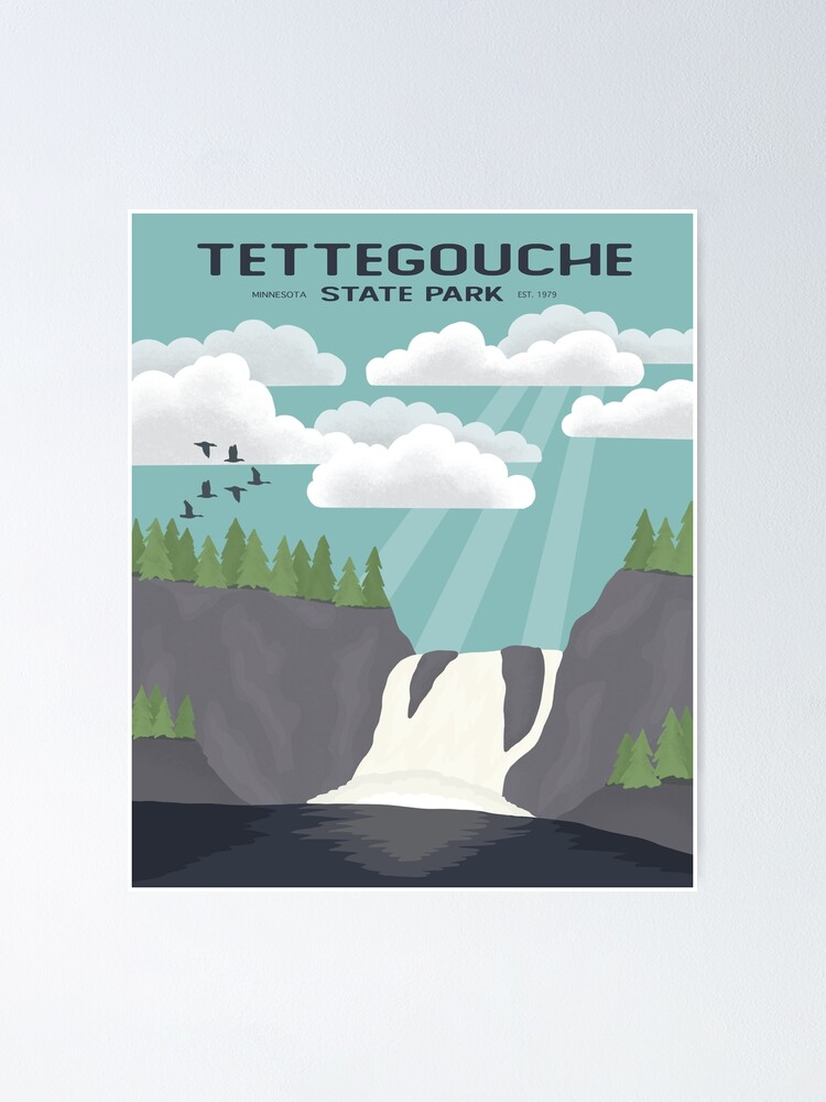 Alternate view of Tettegouche State Park Poster