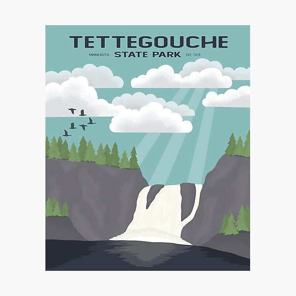 Tettegouche State Park Photographic Print