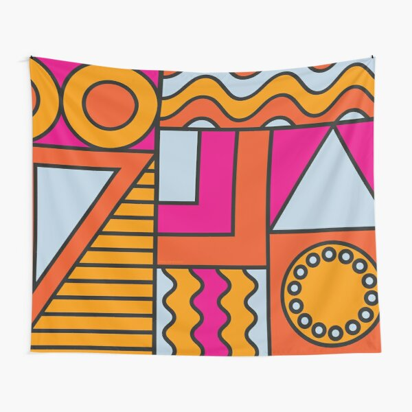 Geometric Party Tapestry