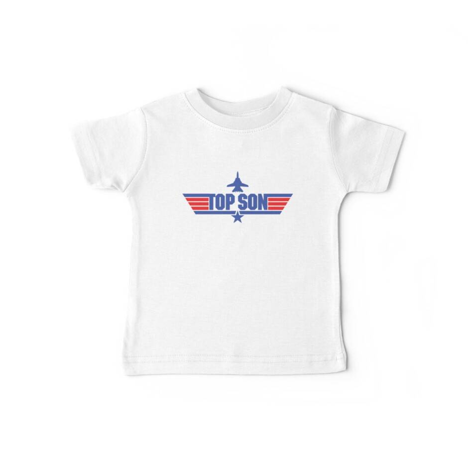 Custom Top Gun Style Style - Top Son by CallsignShirts