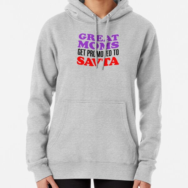Great Moms Promoted To Savta Jewish Grandfather Pullover Hoodie