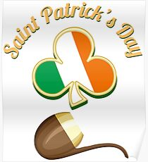 Saint Patricks Day Theme Poster