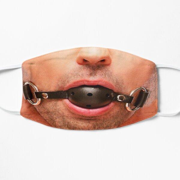 Gay Ball Gag Face Mask Flat Mask