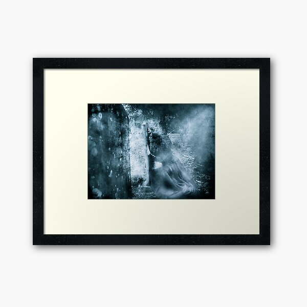 Immortal Kiss Framed Art Print