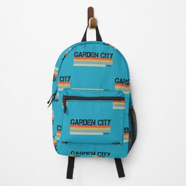 Garden City Retro Vintage Stripes Area Code Backpack