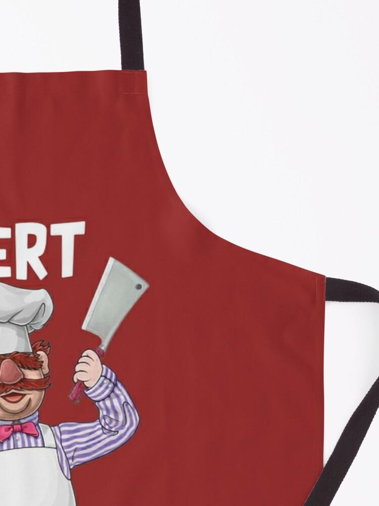 Alternate view of Swedish chef vert der ferk shirt Apron