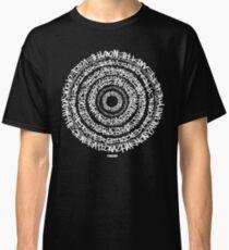 Hip-Hop Origins (White Writing) Classic T-Shirt