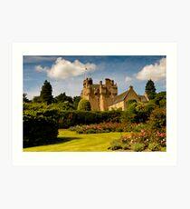 Crathes Castle Art Print