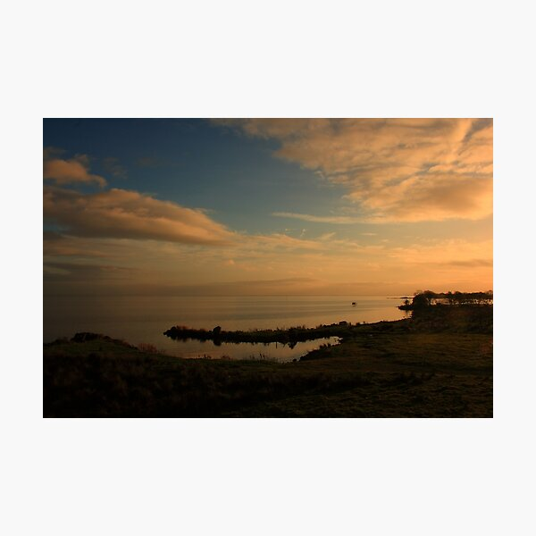 Lough Neagh At Ardboe Photographic Print