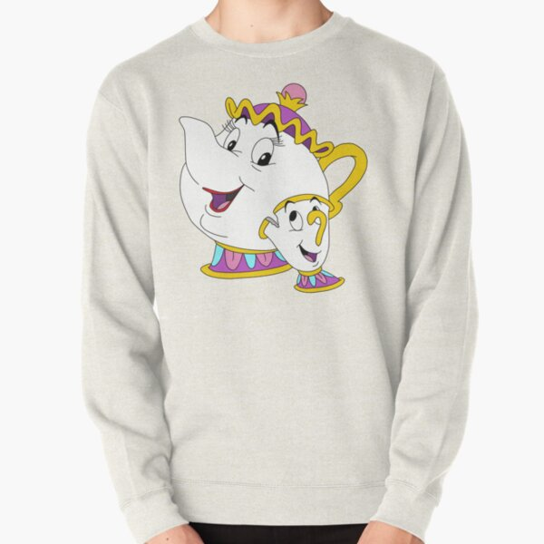 Mrs Potts and Chip Pullover Sweatshirt