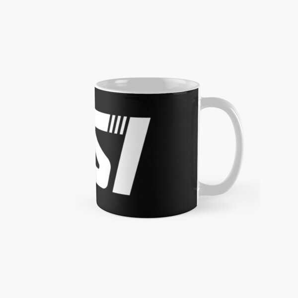Copy of RSI Robert Space Industries Logo White Classic Mug