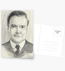 John Bates of Downton Abbey Postkarten