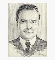 John Bates of Downton Abbey Photographic Print