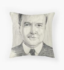 John Bates of Downton Abbey Throw Pillow