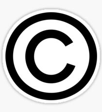 Copyright Sticker