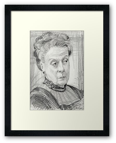 Countess Violet Crawley of Downton Abbey by COusley622