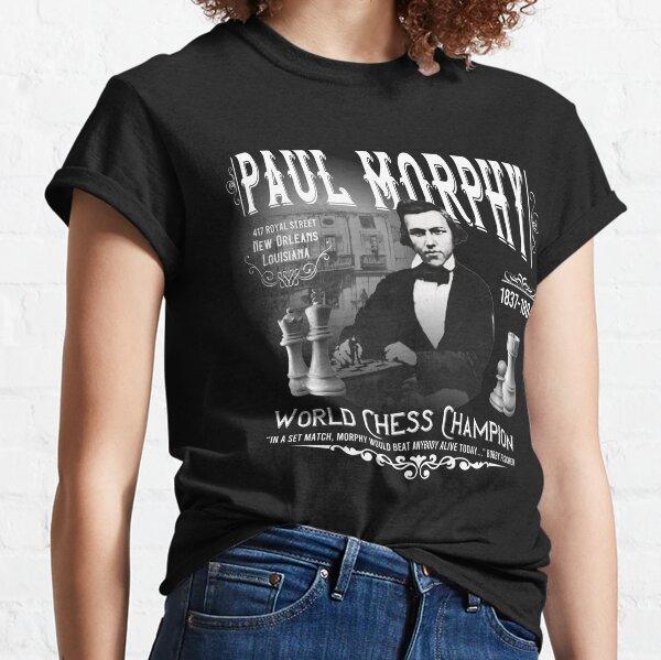 Paul Morphy-World Chess Champion Classic T-Shirt