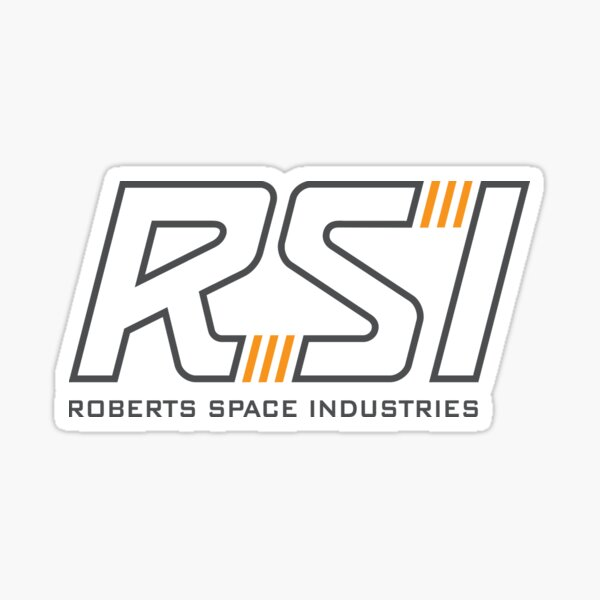 Copy of Copy of RSI Robert Space Industries Sticker
