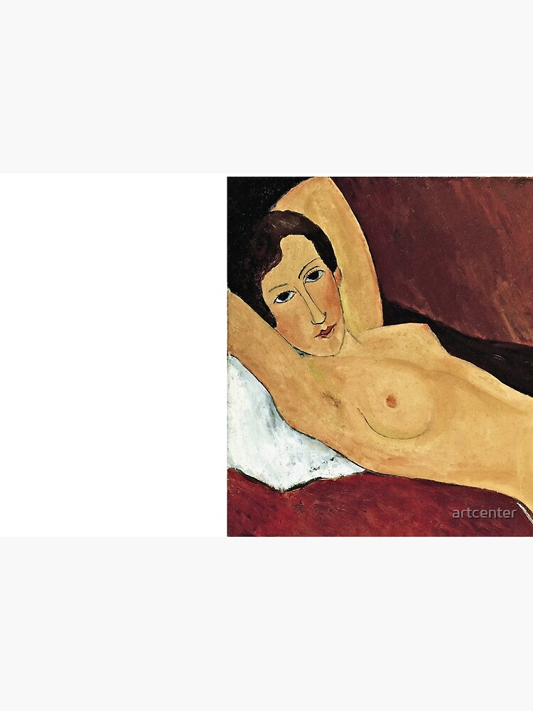 Amedeo Modigliani - Reclining Nude by artcenter
