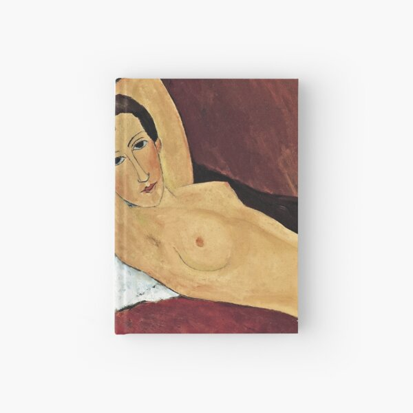 Amedeo Modigliani - Reclining Nude Hardcover Journal