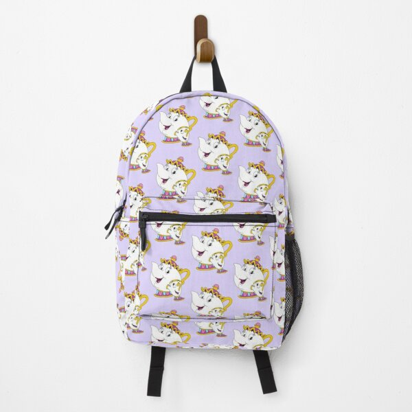 Mrs Potts and Chip pattern Backpack