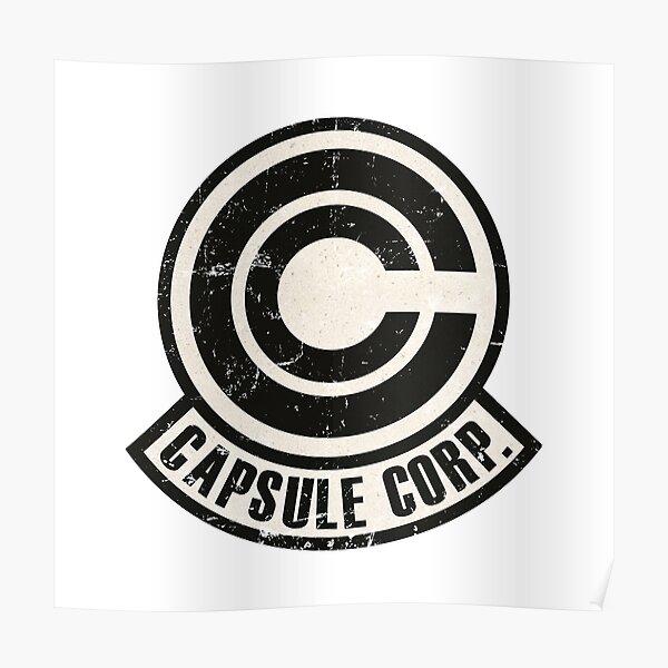 Vintage Capsule corp original logo Poster