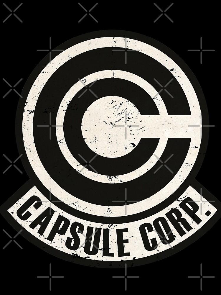 Vintage Capsule corp original logo by Akolytus