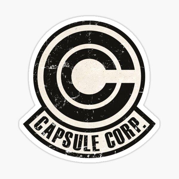 Vintage Capsule corp original logo Sticker