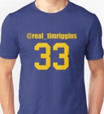 Camiseta unisex @Real_TimRiggins