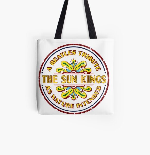 The Sun Kings - Drumhead Logo All Over Print Tote Bag