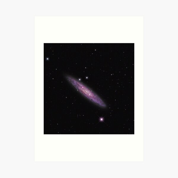 NGC 253 - Sculptor Galaxy (Astronomy.com APOD) Art Print