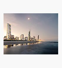 Peace in Surfers Paradise Photographic Print