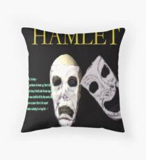 Hamlet Perchance to Dream Throw Pillow