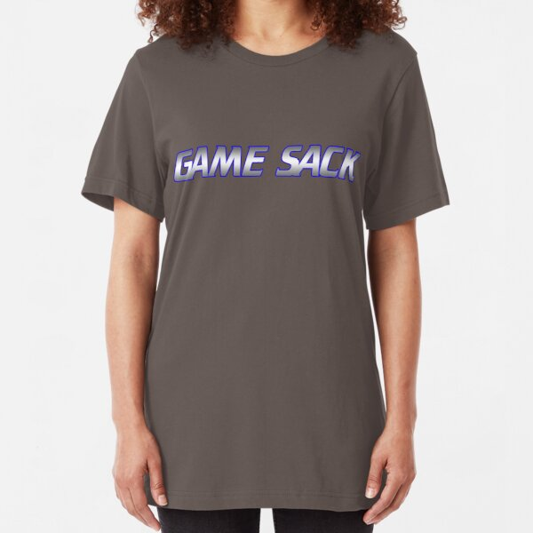 Game Sack Logo Slim Fit T-Shirt