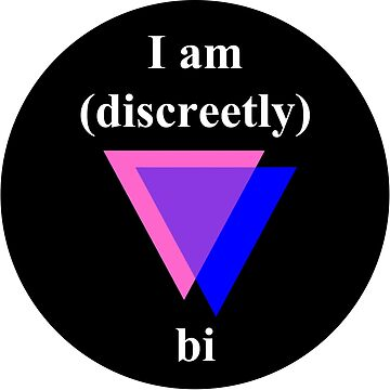 I am (discreetly) bi - bisexual pride by Aconissa
