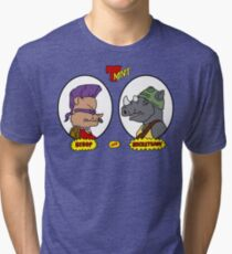 Bebop and Rocksteady Tri-blend T-Shirt