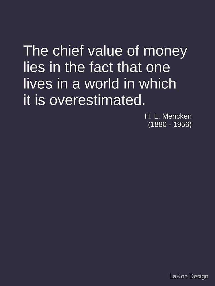 The Value of Money by jlaroe