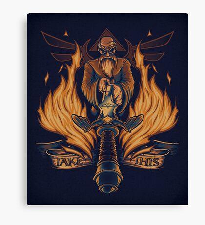 Take This - Print Canvas Print